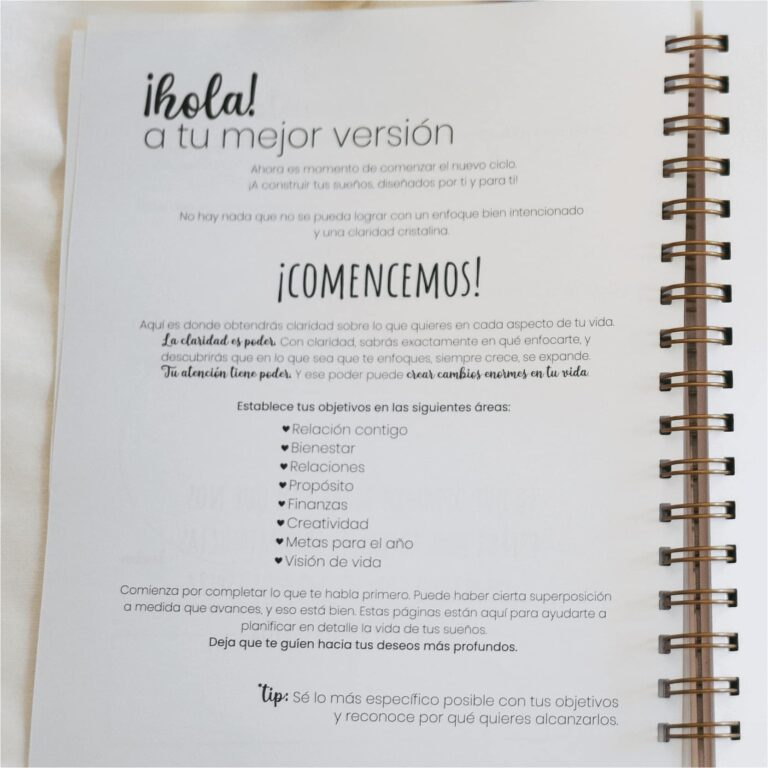 libro planner 6